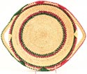 African Basket - Ghana Bolga - Shallow Bowl - 13 Inches Across - #30835