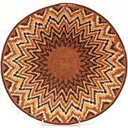 African Basket - Swaziland - Sisal Masterweave Bowl - 12.5 Inches Across - #31587