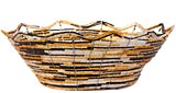 African Basket - Kenya - Beaded Bowl, Large - 10.5 Inches Across - #54537