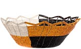 African Basket - Kenya - Beaded Bowl, Large - 11 Inches Across - #56595