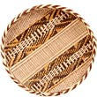 "African Basket - Tonga - Gokwe Winnowing Basket - 14.25"" Across - #53503"