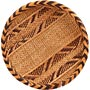 "African Basket - Tonga - Gokwe Winnowing Basket - 10.25"" Across - #66243"