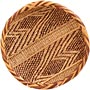 "African Basket - Tonga - Gokwe Winnowing Basket - 10.5"" Across - #66244"