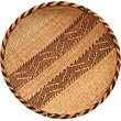 "African Basket - Tonga - Gokwe Winnowing Basket - 15"" Across - #66949"