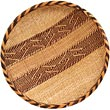 "African Basket - Tonga - Gokwe Winnowing Basket - 14.5"" Across - #66950"