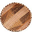 "African Basket - Tonga - Gokwe Winnowing Basket - 14.25"" Across - #68966"