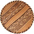"African Basket - Tonga - Gokwe Winnowing Basket - 15.75"" Across - #68969"