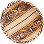 "African Basket - Tonga - Gokwe Winnowing Basket - 12"" Across - #72356"