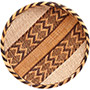 "African Basket - Tonga - Gokwe Winnowing Basket - 12"" Across - #72357"