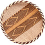 "African Basket - Tonga - Gokwe Winnowing Basket - 11.5"" Across - #72358"
