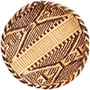 "African Basket - Tonga - Gokwe Winnowing Basket - 11.5"" Across - #72361"