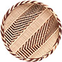 "African Basket - Tonga - Gokwe Winnowing Basket - 11"" Across - #72364"