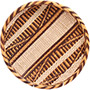 "African Basket - Tonga - Gokwe Winnowing Basket - 11"" Across - #72365"