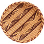 "African Basket - Tonga - Gokwe Winnowing Basket - 11"" Across - #72366"