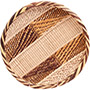 "African Basket - Tonga - Gokwe Winnowing Basket - 11.5"" Across - #72368"
