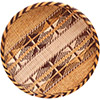 "African Basket - Tonga - Gokwe Winnowing Basket - 13"" Across - #72370"