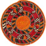 African Basket - Nubian - Tabaga Roundel - 11.25 Inches Across - #52386
