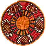 African Basket - Nubian - Tabaga Roundel - 11.25 Inches Across - #52392