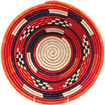 African Basket - Nubian Bowl - 11.5 Inches Across - #72936
