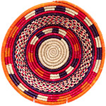 African Basket - Nubian Bowl - 12 Inches Across - #73057