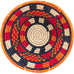 African Basket - Nubian Bowl - 11.25 Inches Across - #73063