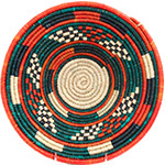 African Basket - Nubian Bowl - 12 Inches Across - #73065