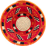 African Basket - Nubian Bowl - 12.5 Inches Across - #73066