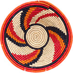 African Basket - Nubian Bowl - 13 Inches Across - #73067