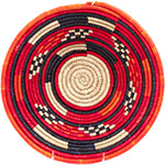African Basket - Nubian Bowl - 12 Inches Across - #73070