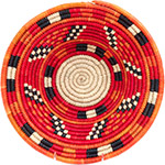 African Basket - Nubian Bowl - 12.75 Inches Across - #73073