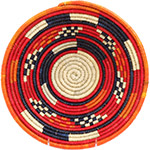 African Basket - Nubian Bowl - 11.5 Inches Across - #73074