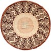 African Basket - Tonga - Zimbabwe Binga Basket - 13.25 Inches Across - #61207
