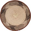African Basket - Tonga - Zimbabwe Binga Basket - 15.5 Inches Across - #62289