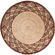 African Basket - Tonga - Zimbabwe Binga Basket - 16 Inches Across - #62291