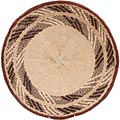 African Basket - Tonga - Zimbabwe Binga Basket - 17 Inches Across - #62303
