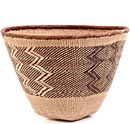 African Basket - Tonga - Binga Storage Basket - 13 Inches Across - #62427