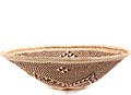 African Basket - Tonga - Zimbabwe Binga Bowl - 11 Inches Across - #63718