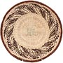 African Basket - Tonga - Zimbabwe Binga Basket - 12 Inches Across - #64661