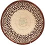 African Basket - Tonga - Zimbabwe Binga Basket - 11.25 Inches Across - #64662