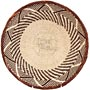 African Basket - Tonga - Zimbabwe Binga Basket - 11.5 Inches Across - #64667
