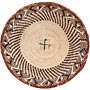 African Basket - Tonga - Zimbabwe Binga Basket - 11.5 Inches Across - #64669