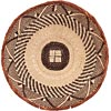African Basket - Tonga - Zimbabwe Binga Basket - 13 Inches Across - #64678