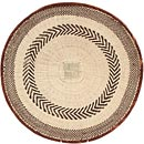 African Basket - Tonga - Zimbabwe Binga Basket - 20 Inches Across - #64821