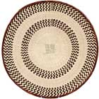 African Basket - Tonga - Zimbabwe Binga Basket - 20.5 Inches Across - #64935