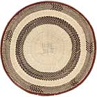 African Basket - Tonga - Zimbabwe Binga Basket - 20.5 Inches Across - #64937