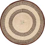 African Basket - Tonga - Zimbabwe Binga Basket - 23.5 Inches Across - #64947