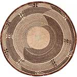 African Basket - Tonga - Zimbabwe Binga Basket - 24 Inches Across - #65173