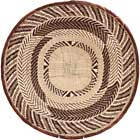 African Basket - Tonga - Zimbabwe Binga Basket - 21 Inches Across - #65258