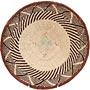 African Basket - Tonga - Zimbabwe Binga Basket - 11.5 Inches Across - #65281