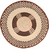 African Basket - Tonga - Zimbabwe Binga Basket - 25.5 Inches Across - #66911
